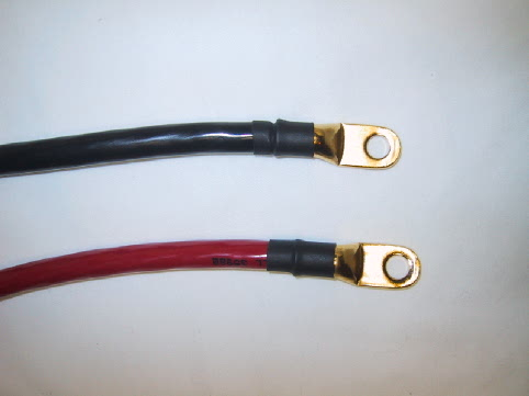 red/black cable